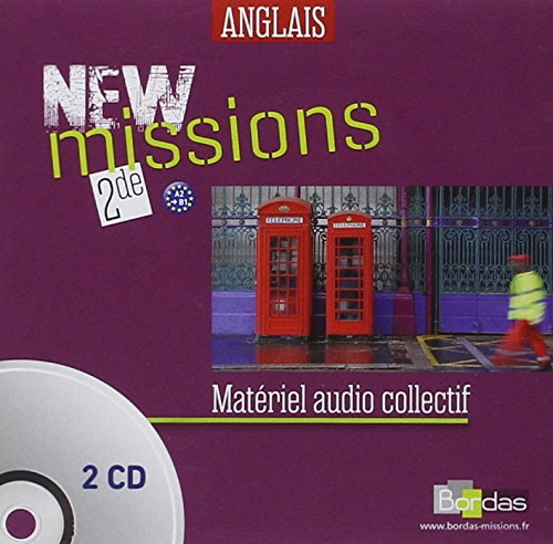 NEW Missions 2de Coffret audio classe