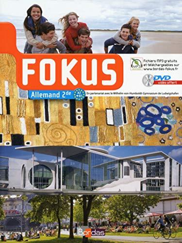 9782047331330: Fokus 2de Manuel de l'élève avec DVD vidéo-audio