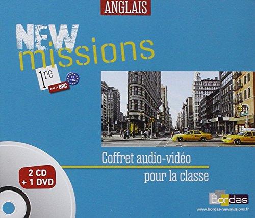 9782047332153: Coffret New Missions 1re - 2cd Audio Classe 2015