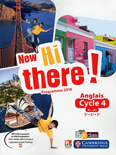 9782047335178: New Hi there! - Anglais Cycle 4