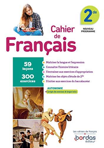 9782047336670: Cahier de Français 2de