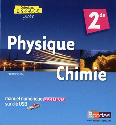 E.S.P.A.C.E 2de Manuel numérique Premium (clé USB) - Tarif spécial (Éd....