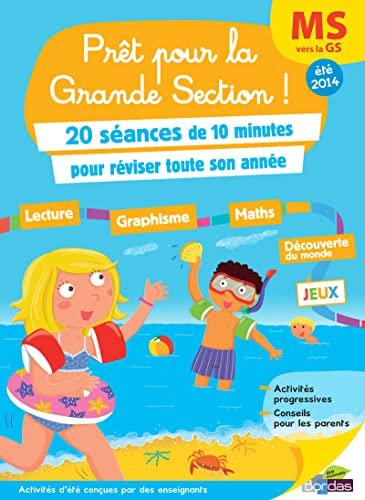 9782047351024: Cahiers de vacances - Prêt Pour... la Grande Section