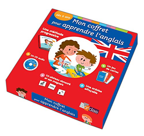 9782047351291: Mon coffret pour apprendre l'anglais - Dès 6 ans (CP-CE)