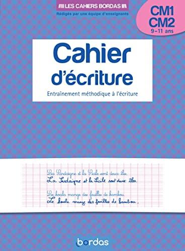 9782047351499: Les cahiers bordas - cahier d'écriture CM1 CM2
