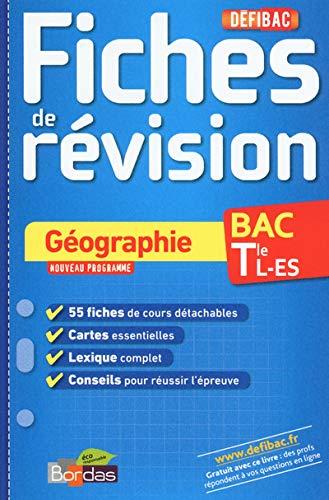 9782047351642: Défibac Fiches de révision - Géographie Tle L-ES