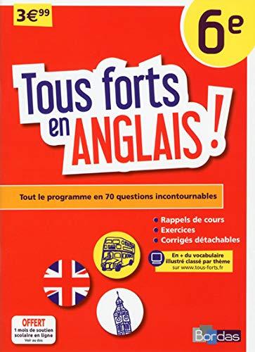 9782047352687: Tous forts en Anglais 6e