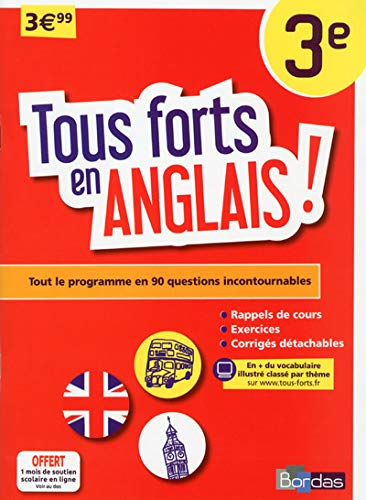 9782047352717: Tous forts en Anglais 3e