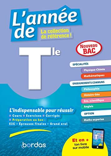 9782047358634: L'Année de Tle Spécialités Physique-Chimie Maths - Tout-en-un - Edition 2020