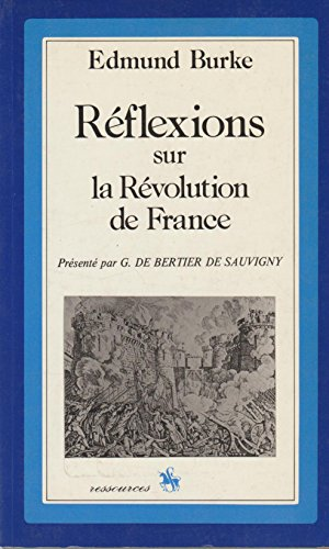 9782050001398: R�flexions sur la R�volution de France (Ressources)