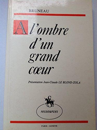9782050001534: A l'Ombre d'un Grand Coeur. Souvenirs d'une Collaboration.