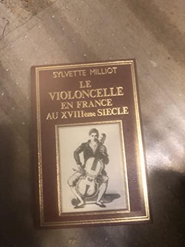 9782051006903: Le violoncelle en France au XVIIIe si�cle