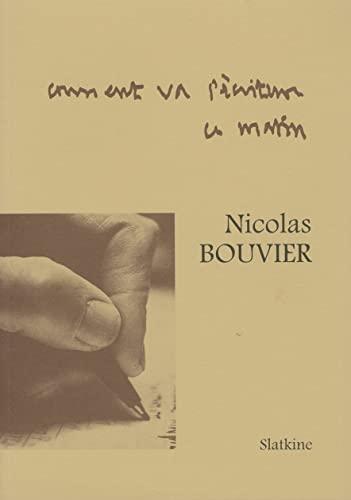 9782051015233: Comment va l'ecriture ce matin: [pages de carnets] (French Edition)