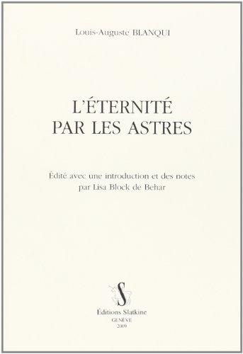 9782051021012: L'Eternité par les Astres