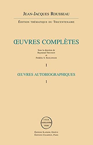 Oeuvres complètes en 24 volumes: Jean-Jacques Rousseau
