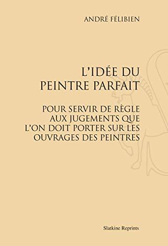 9782051025799: L Idée du Peintre Parfait (1707).