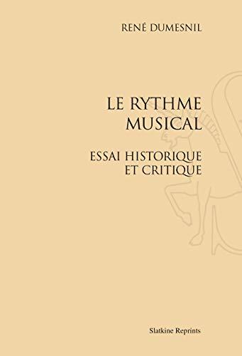 9782051026987: Le Rythme musical. Essai historique et critique.