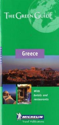 9782060000275: Michelin THE GREEN GUIDE Grece, 5e