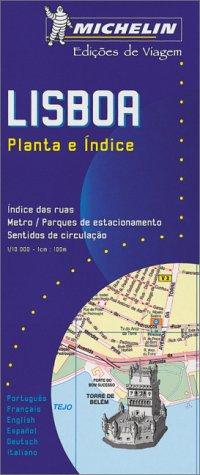 9782060000398: Michelin Lisbon Street Map No. 39 (Michelin Maps & Atlases)