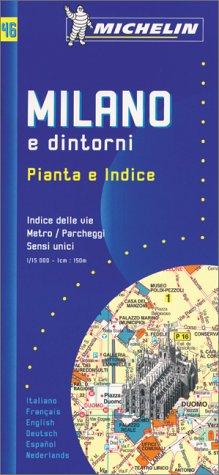 9782060000466: Milano e dintorni. Pianta e indice 1:15.000. 2003-2004 (Piante di città con repertorio)