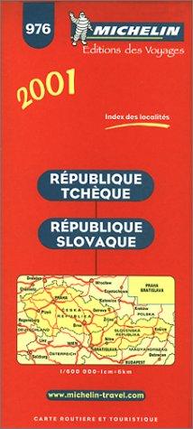 9782060001807: Michelin 2001 Czech/Slovak Republic (Michelin Maps)