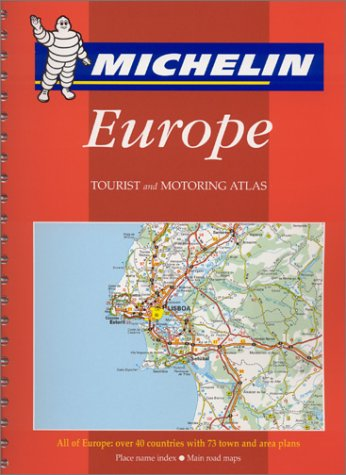 Michelin 2001 Tourist and Motoring Atlas Europe (Michelin Tourist and Motoring Atlas : Europe (...