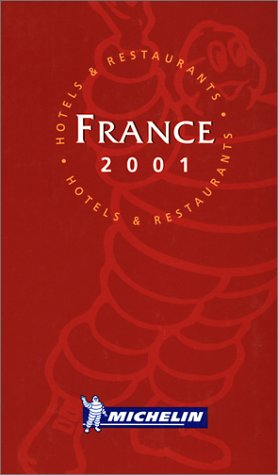 9782060002873: Michelin the Red Guide France 2001