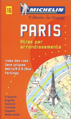 Michelin Paris Pocket Atlas (by Arrondissements) Map: Michelin Travel Publications