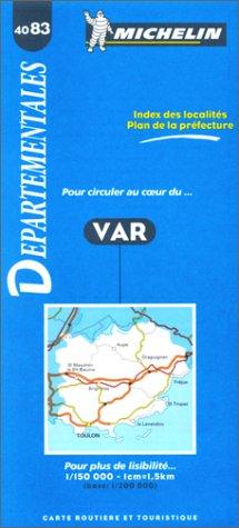 9782060040837: Var. 1/150 000 (Cartes routieres & touristique)