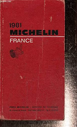 9782060064017: Michelin Red Guide: France, 1981