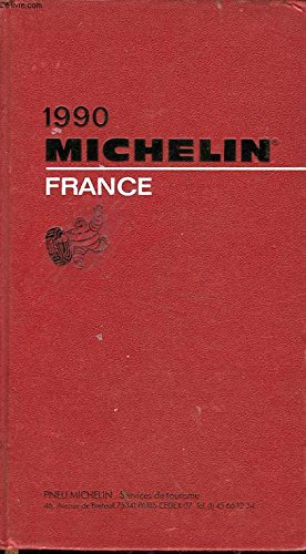 Michelin Red Guide France 1995//645