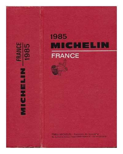 9782060064550: Michelin Red Guide: France, 1985