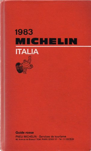 Michelin Red Guide: Italy, 1983