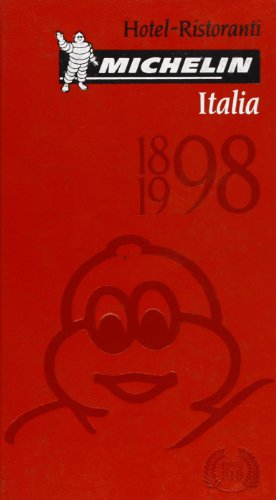 9782060670898: Michelin Red Guide Italia, 1998 : Hotels-Restaurants (ITALIAN LANGUAGE, Serial)