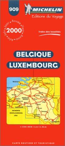 9782060909035: Belgium, Luxembourg (Michelin Maps)