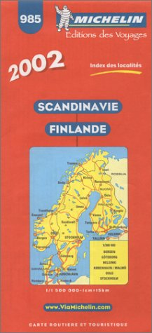 9782061001103: Sandinavie Finlande. : 1/500 000