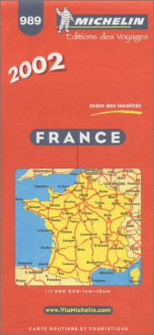9782061001134: Michelin France Map No. 989, 30e