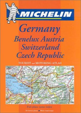 Michelin Germany/Austria/Benelux/Switzerland/Czech Republic Atlas No. 21463, 2e...