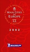 9782061001776: Michelin THE RED GUIDE Europe Main Cities 2002