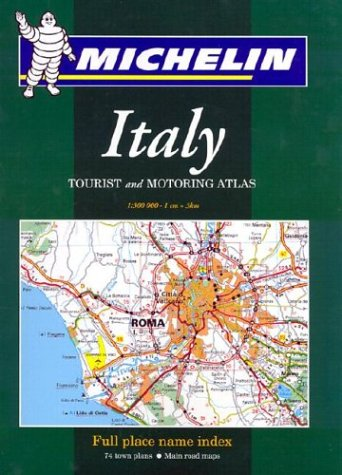 9782061002414: Michelin Italy Tourist and Motoring Atlas (Michelin Tourist and Motoring Atlas : Italy)