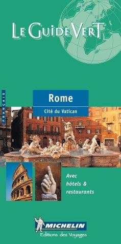 9782061003565: Guide vert Rome