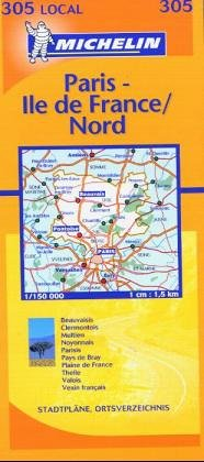 9782061003664: Oise, Paris, Val d'Oise (Michelin Local France) (French Edition)