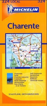 9782061003855: Charente, Charente-Maritime (Michelin Local France) (French Edition)