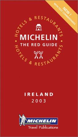 9782061007020: Michelin Red Guide Ireland 2003