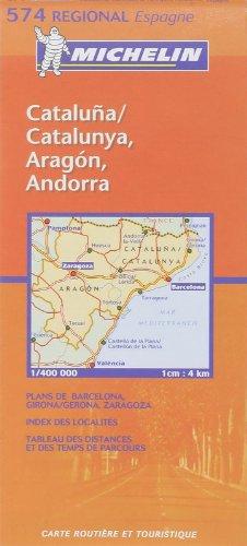 9782061007631: Carte RGIONAL Aragon,Cataluna, Catalunya