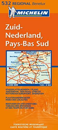 9782061007754: Michelin Map Netherlands: South 532