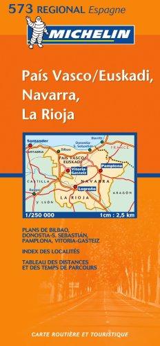 Michelin Map 573 Regional Spain Pais Vasco,: Michelin