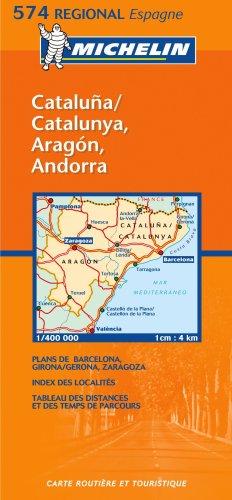9782061009031: Aragon, Cataluna (Michelin Regional Maps)