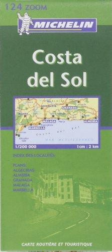 9782061009758: Michelin Spain, Costa del Sol Zoom Map No. 124