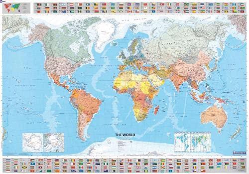 9782061009901: World 2012: Wall Map (Michelin Wall Maps)